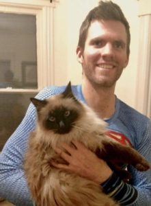 Ian Santino & cat