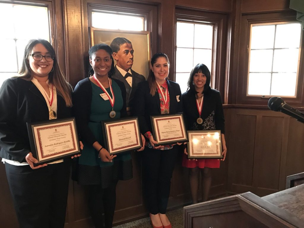 2018 Class of Bouchet Society Inductees