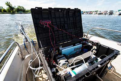 A 2015 prototype of the Fast Limnology Automated Measurement platform